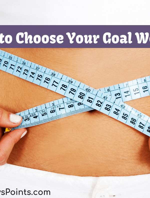 How to Choose Your Goal Weight