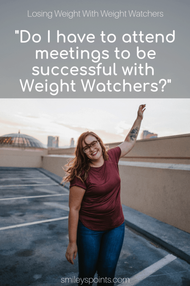 Online vs In Person Meetings with Weight Watchers - Smiley's