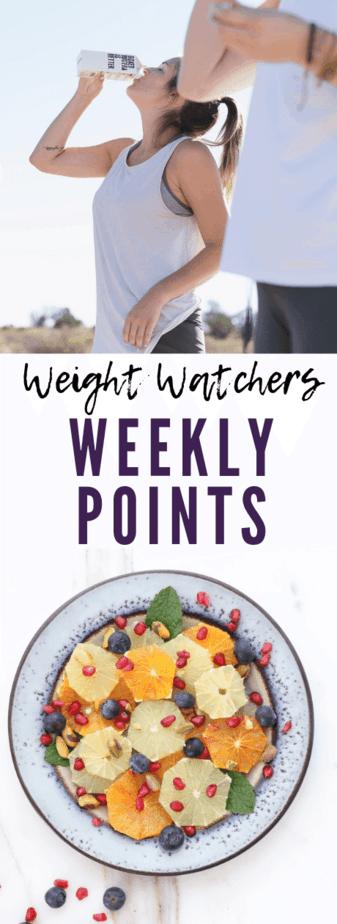 weight watcheres weeklies