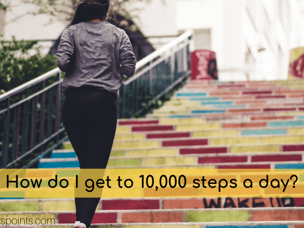 how to get 10k steps a day