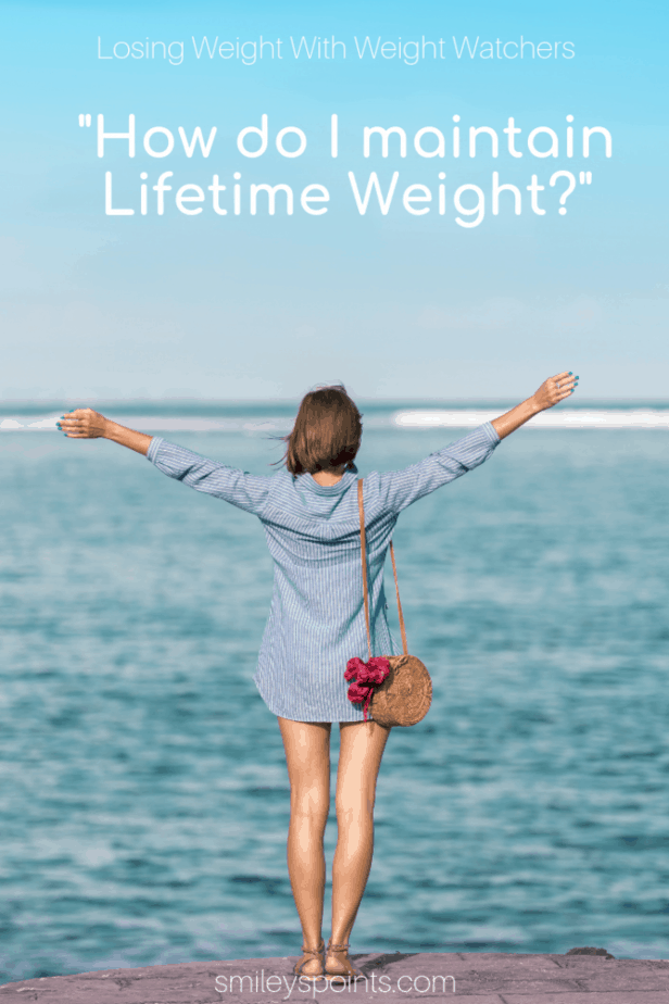 maintain lifetime weight watchers