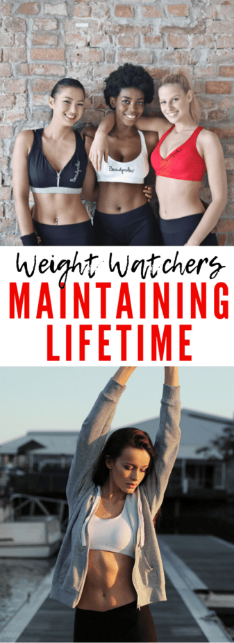 maintaining lifetime weight watchers