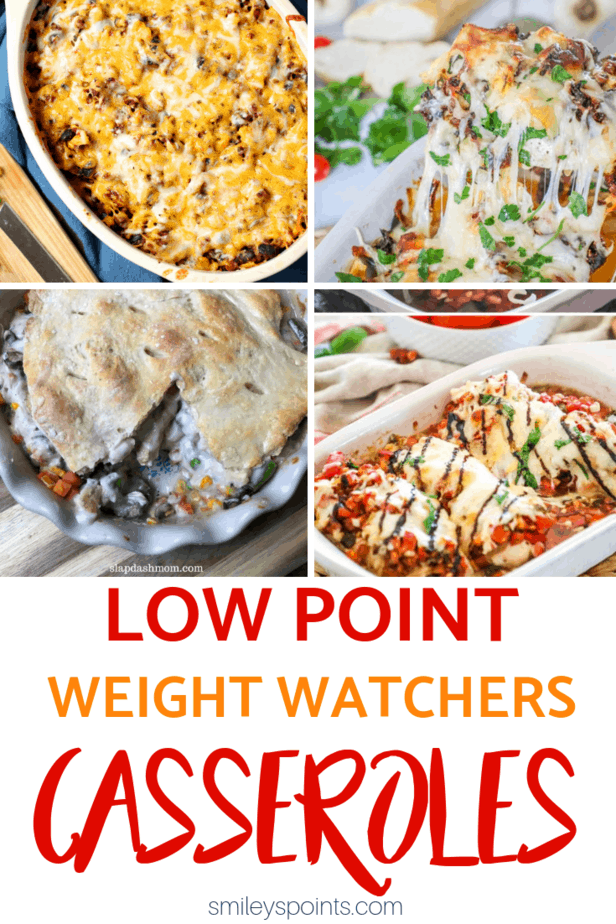 weight watchers casseroles