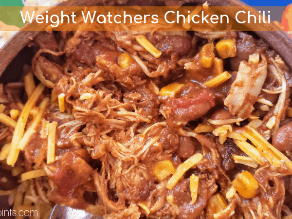 Weight Watchers Friendly Chicken Chili Recipe
