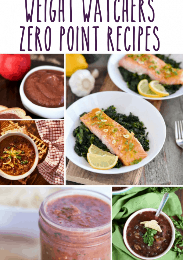 Weight Watchers Friendly Zero Point Recipes