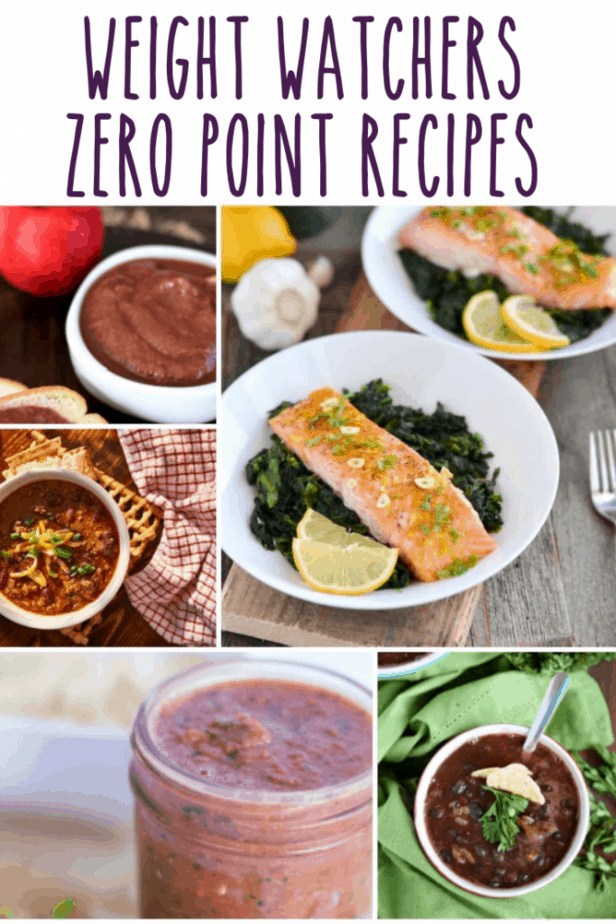 Weight Watchers Zero Point Recipes