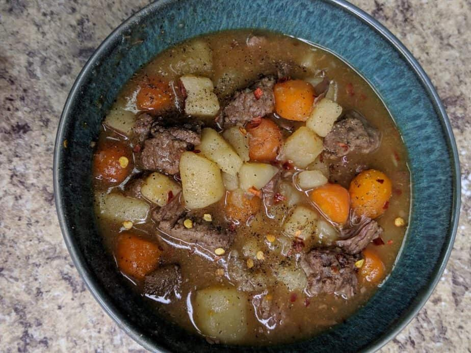 low point beef stew weight watchers