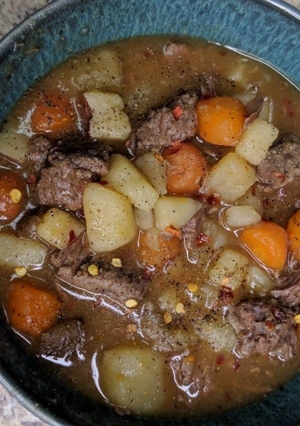 InstantPot Beef Stew