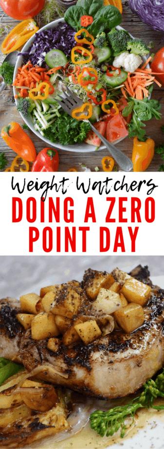 zero point day weight watchers