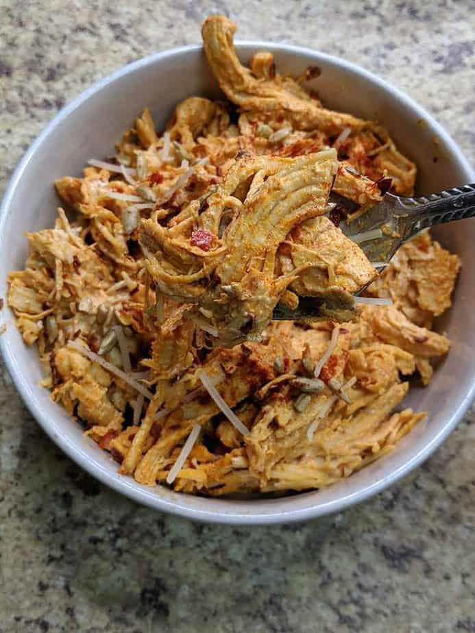zero point spicy chicken salad recipe
