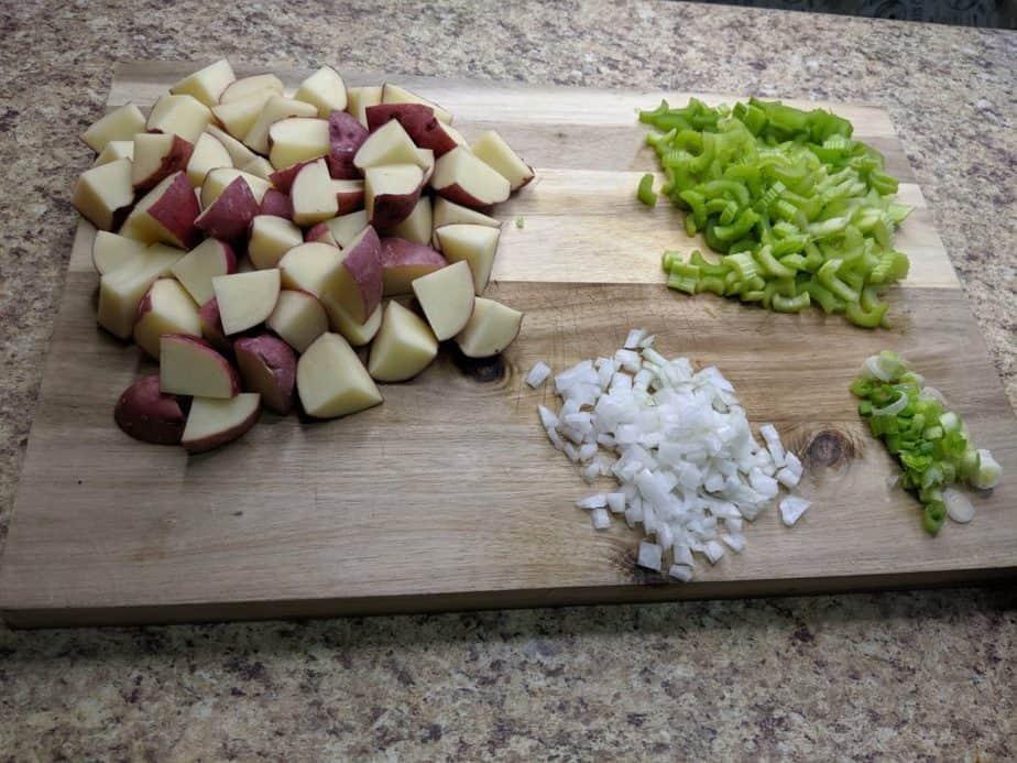 Baked Potato Soup Ingredients