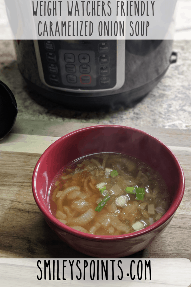 Weight Watchers Friendly Caramelized Onion Soup