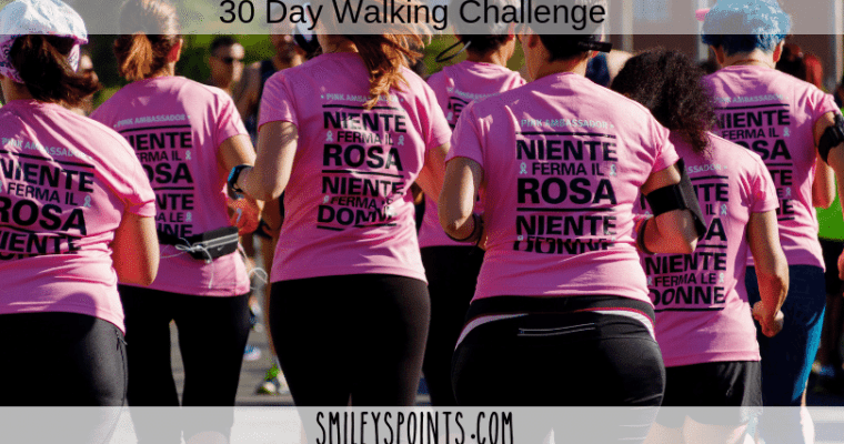 30 Day Walking Challenge