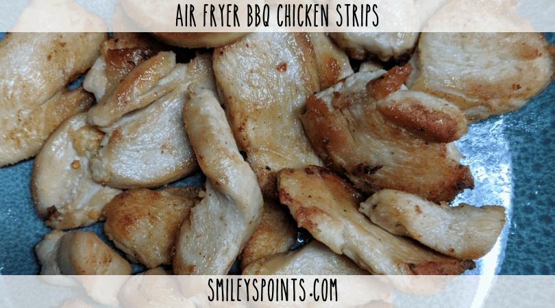 Air Fryer BBQ Chicken Strips
