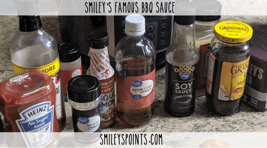 _Smiley's Famous BBQ Sauce