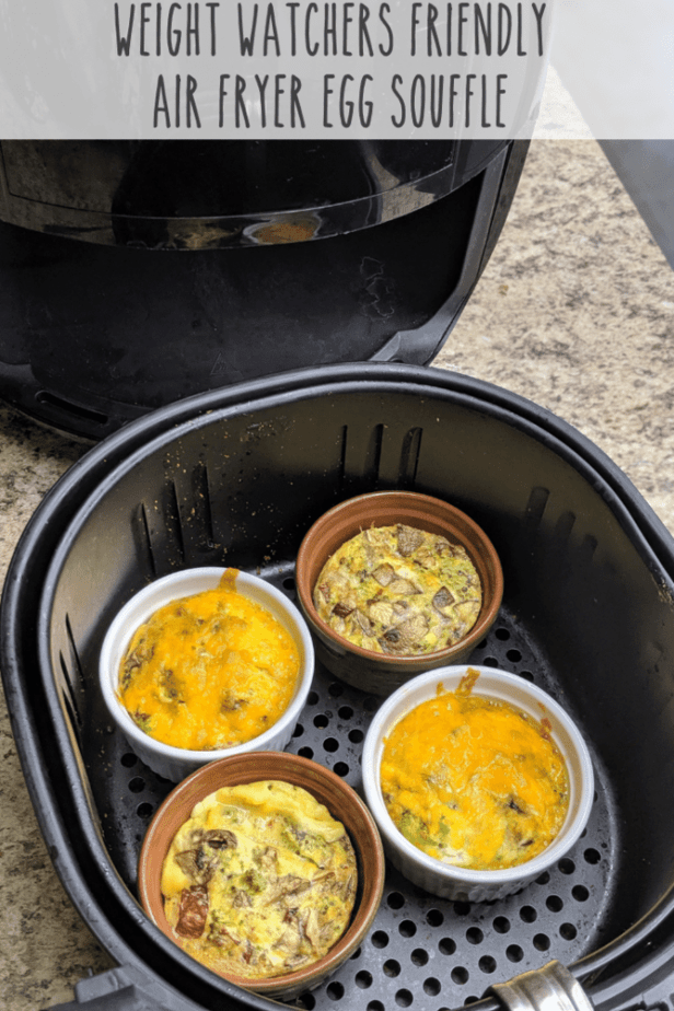 Weight Watchers Air Fryer Egg Souffle