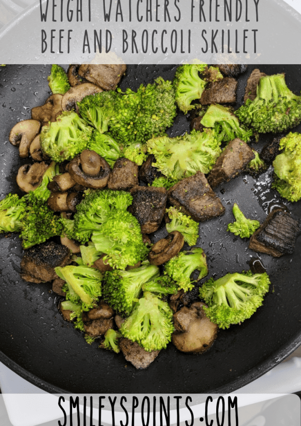 Weight Watchers Friendly Beef and Broccoli Skillet