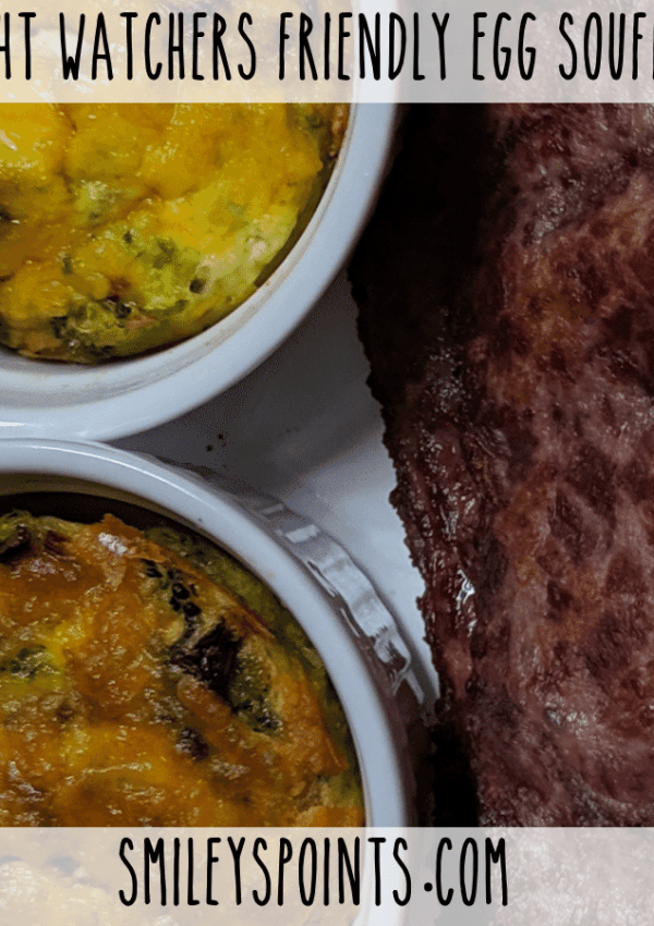 This Air Fryer Egg Souffle is Weight Watchers Friendly!
