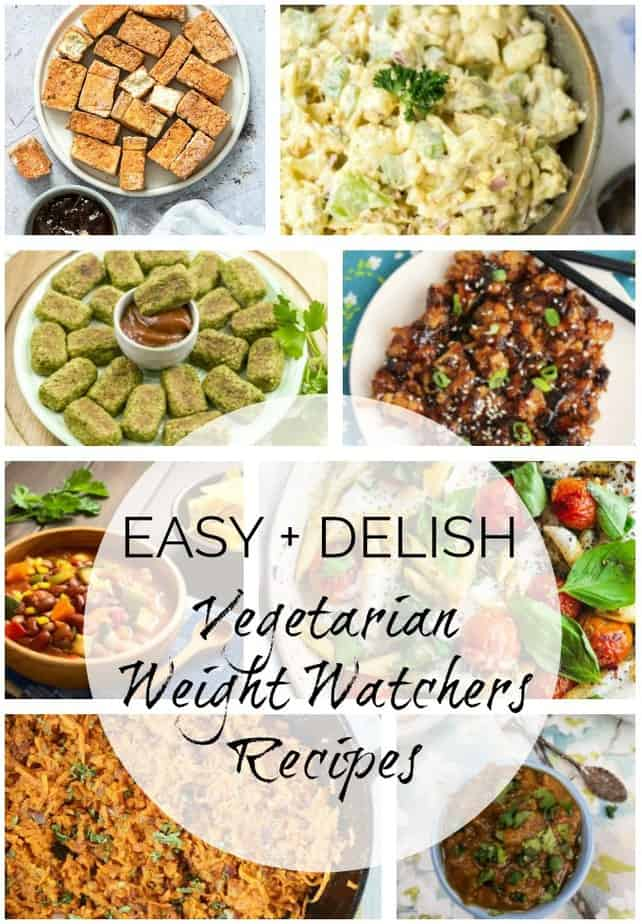 Weight Watchers Vegetarian Recipes