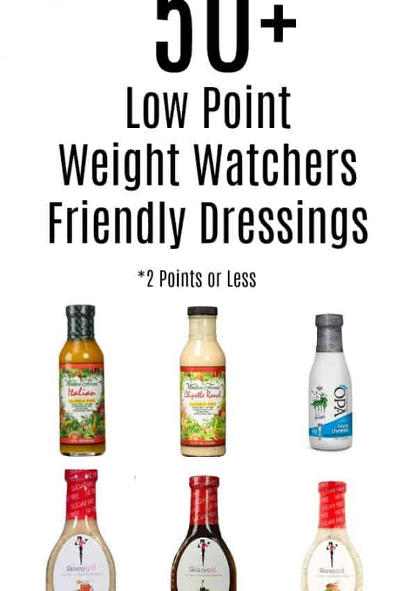 Best Low Point Dressings