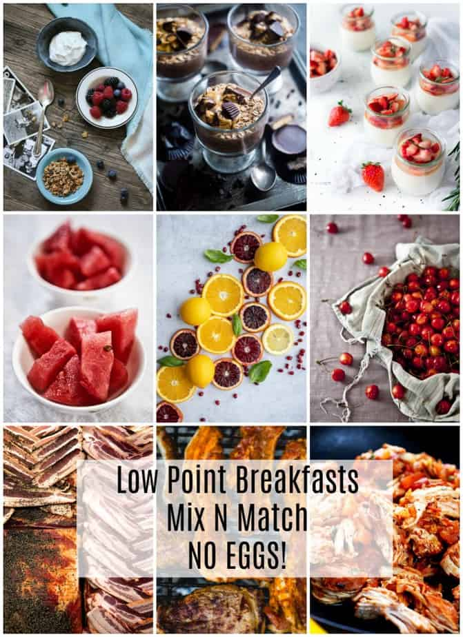 weight watchers breakfasts without eggs