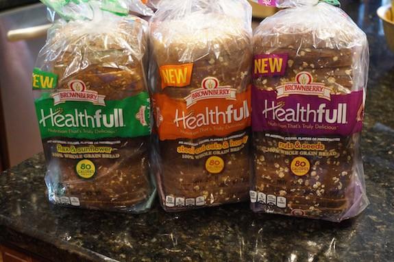 Brownberry healthful bread brands