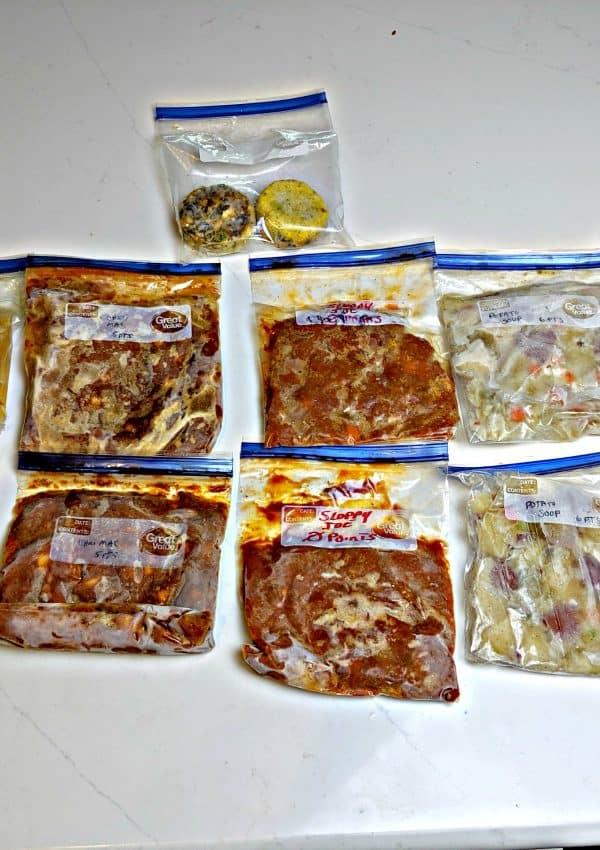 Weight Watchers Freezer Meals