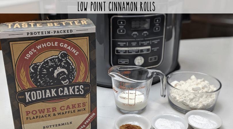 Low Point Cinnamon Rolls