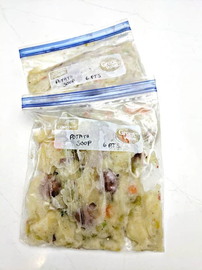 Potato Soup Frozen