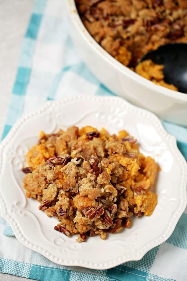 Weight Watchers Baked sweet Potato Casserole