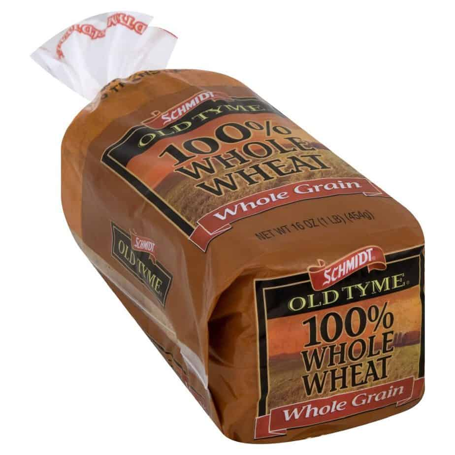 Schmidt Old Tyme bread 100% whole wheat