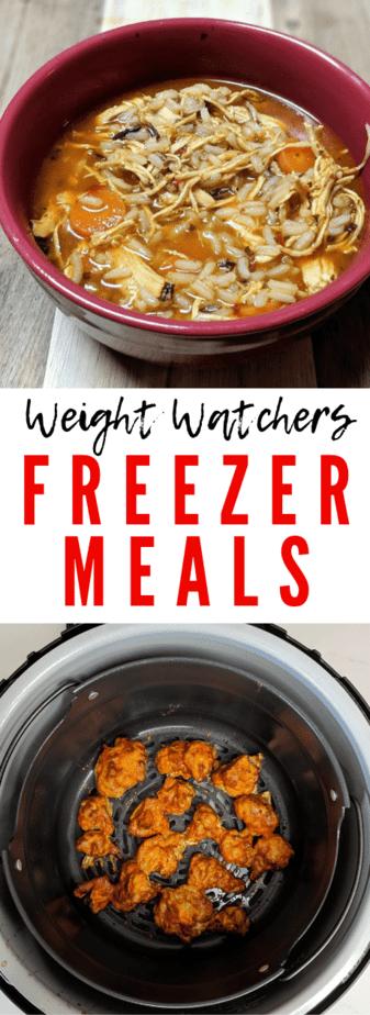 weight watchers freezer cooking