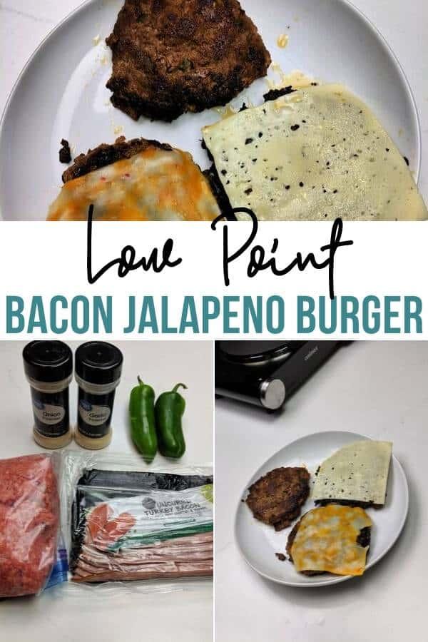 Bacon Jalapeno Burgers