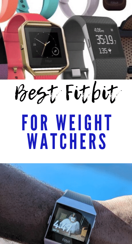Best Fitbit for Weight Watchers