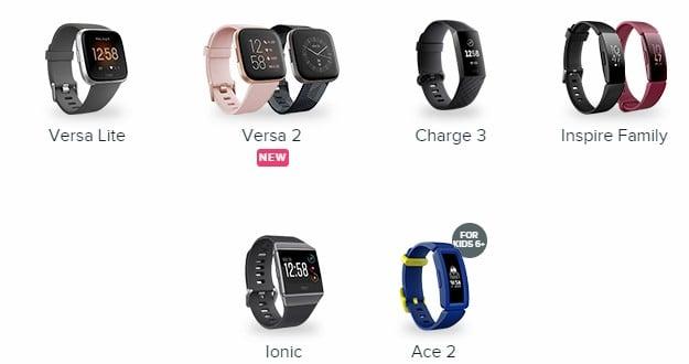 Fitbit Models