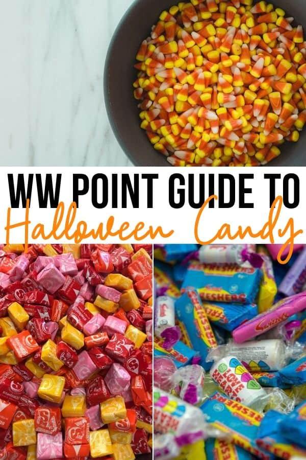 weight watchers halloween candy