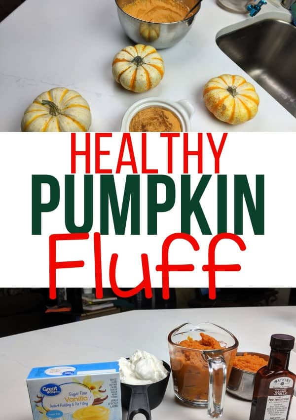 Healthy Pumpkin Fluff