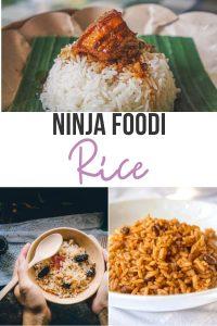 Ninja Foodi Rice