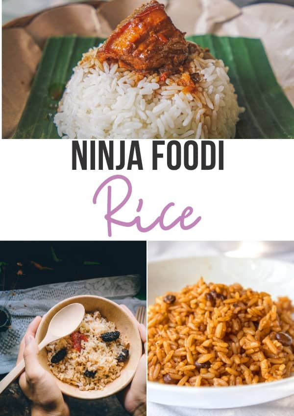 Ninja Foodi or Instant Pot Rice