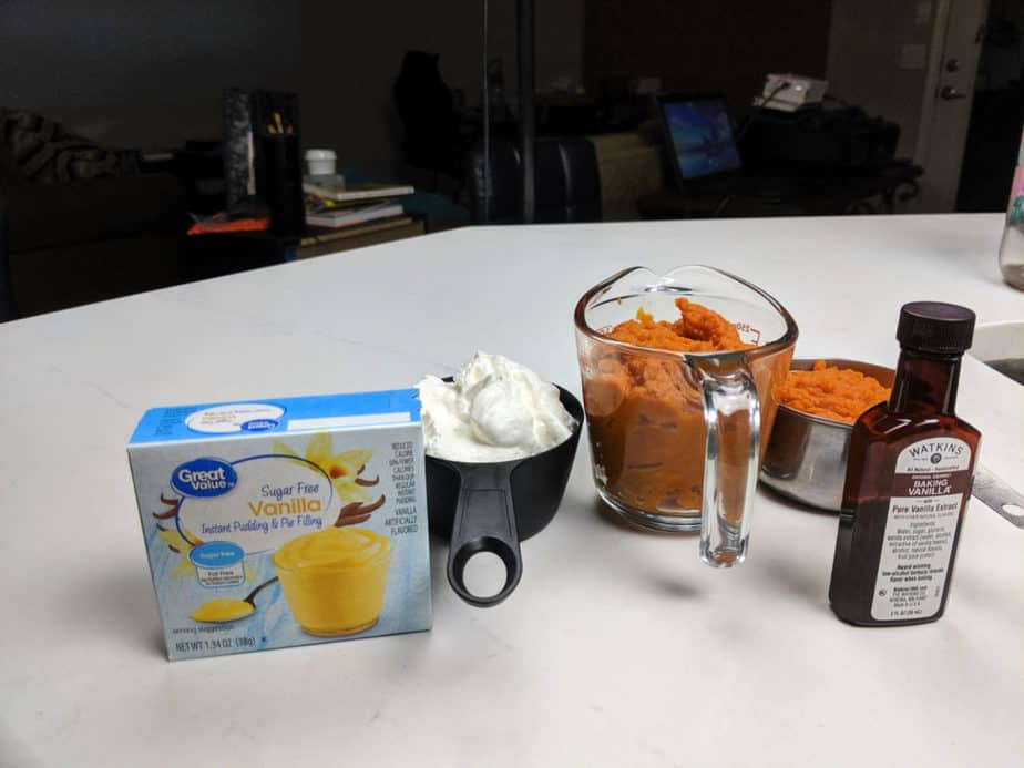Weight Watchers Pumpkin Fluff