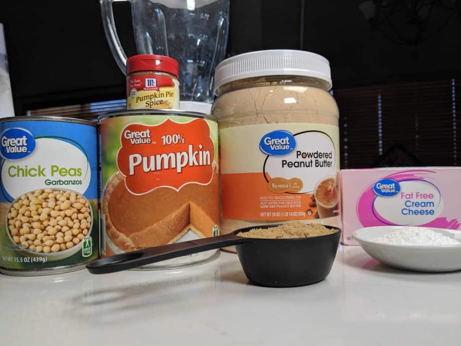Pumpkin Spice Cookie Ingredients