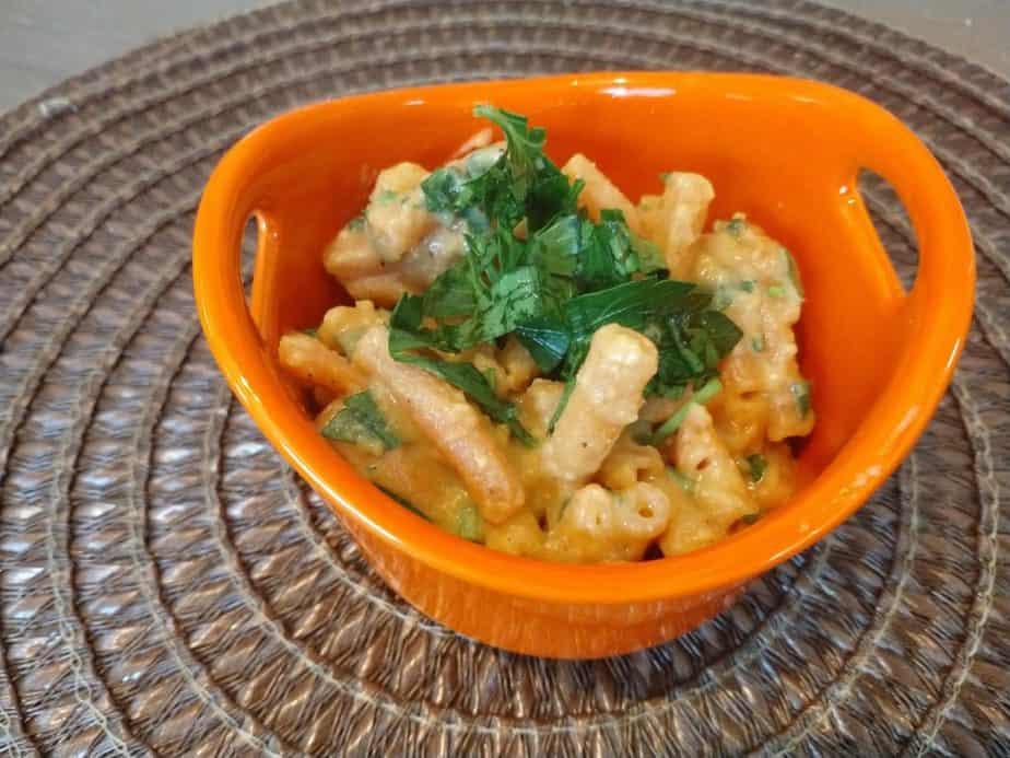 Sweet chili creamy pasta