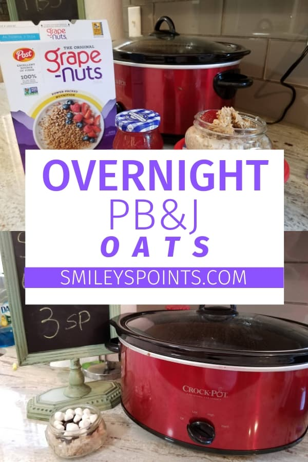 overnight PB&J oats