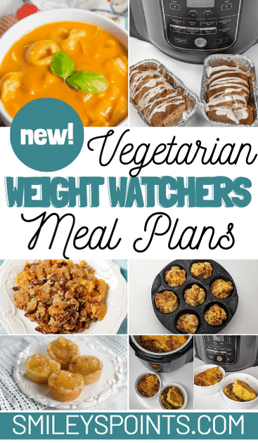 vegetarian weight watchers meal plans