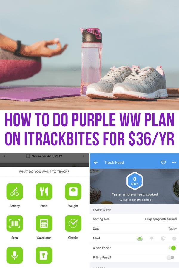 ww purple plan itrackbites