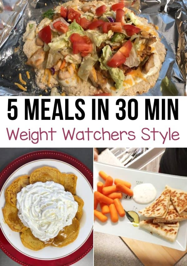 5 Meals Under 30 Minutes Each