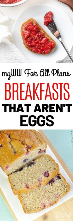 Breakfasts that aren't eggs