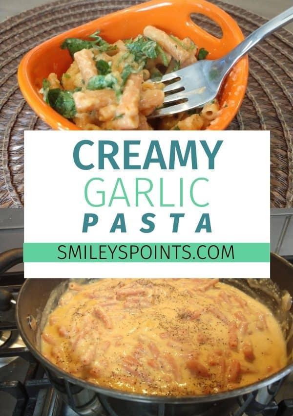 Sweet Chili Creamy Garlic Pasta