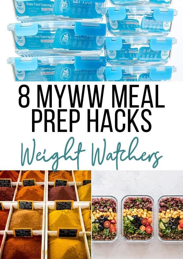8 myWW Meal Prep Hacks