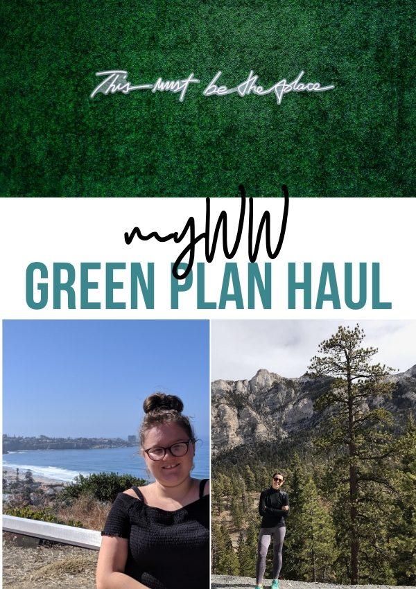 myWW Green Plan Haul